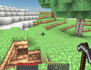 Gameplay Copia de minecraft